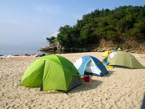 シーカヤックキャンプツーリングinしまなみ海道