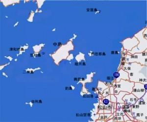 忽那諸島地図